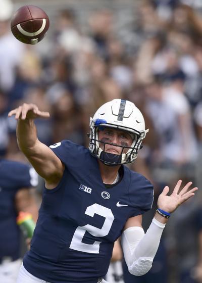 a58c1f6b0f7f0 Backup quarterback Tommy Stevens shines at Penn State Blue-White ...