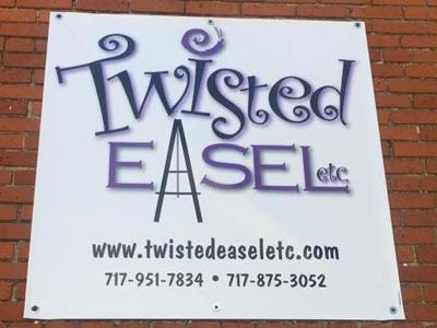 Twisted Easel etc