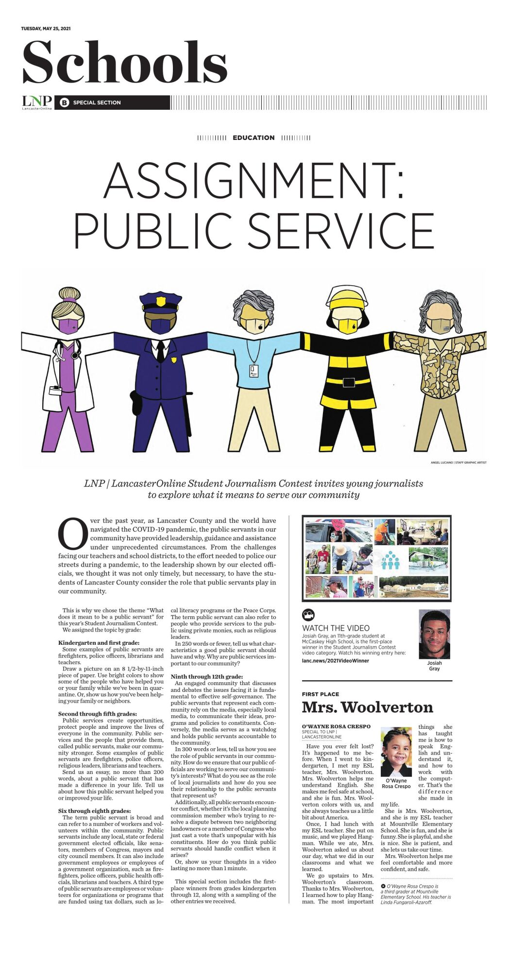 LNP   LancasterOnline Student Journalism & Design An Ad Contest