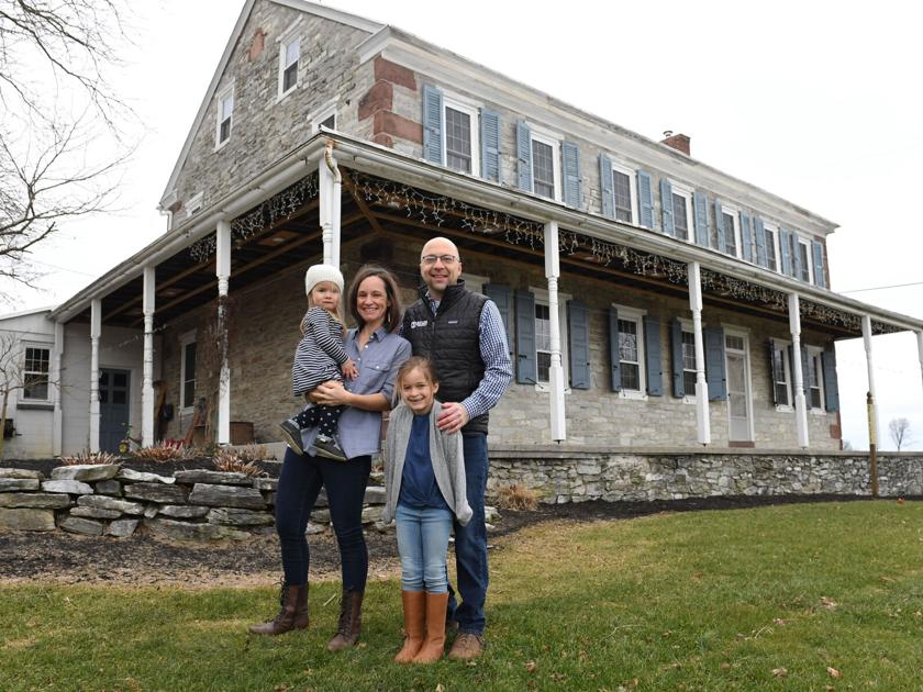 This Lebanon County stone farmhouse got a modern refresh with DIY changes [photos, video] | Food + Living
