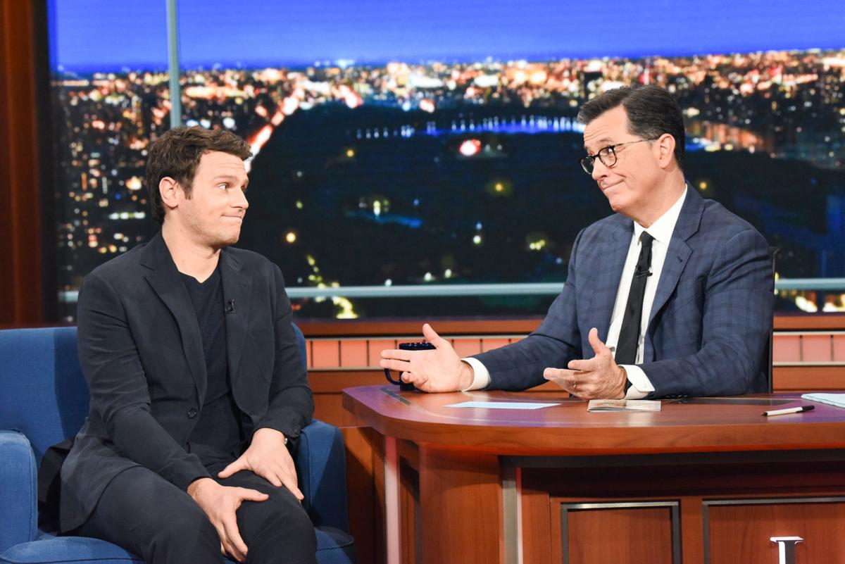 The Late Show with Stephen Colbert Jonathan Groff 2 2019