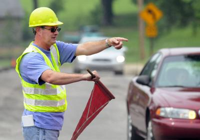 Stepping In: Flagman for a day...