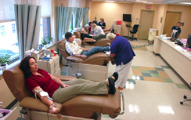 Blood drive pic from 2010