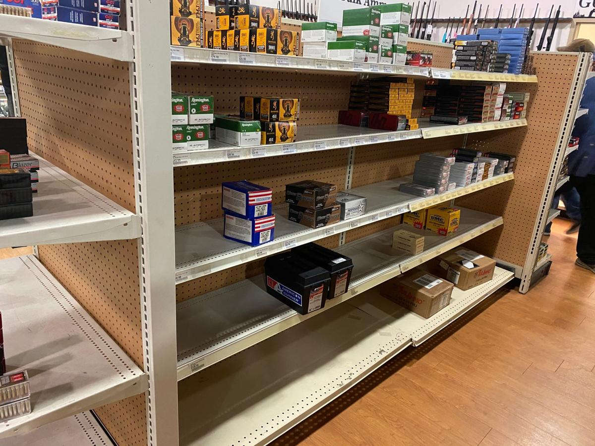 Ammo sales at Kinsey's Outdoors 2