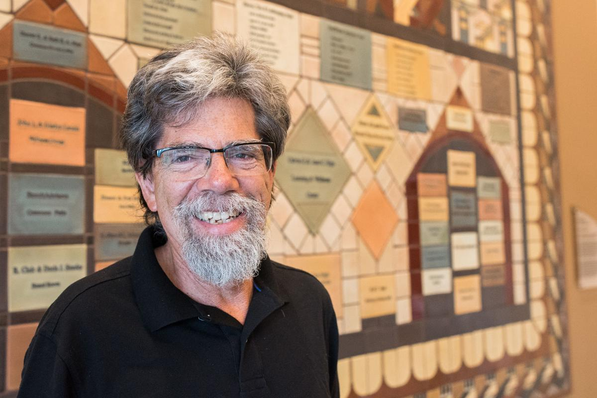 Dennis Maust at Donor Wall sm.jpg