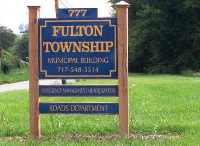 Fulton Township sign