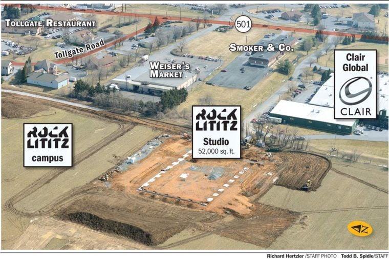 Rock Lititz site map