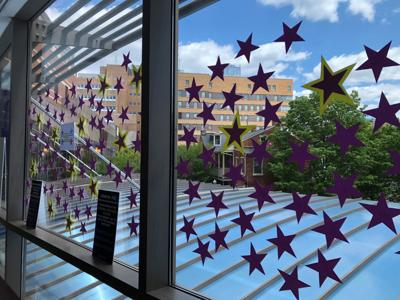 stars for covid-19 patients discharged from LGH after recovering