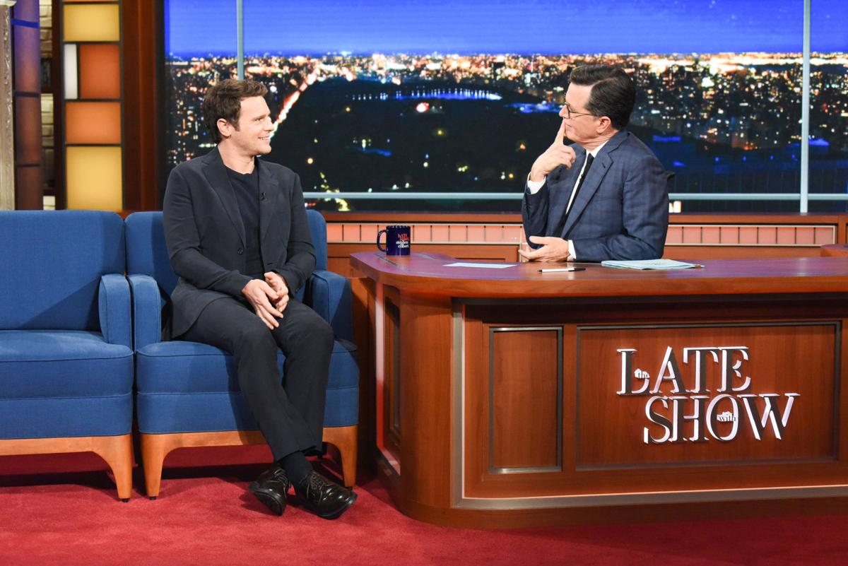 The Late Show with Stephen Colbert Jonathan Groff 1 2019