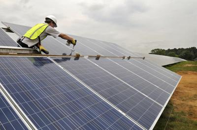 Pennsylvania's largest solar farm taking shape in East Drumore
