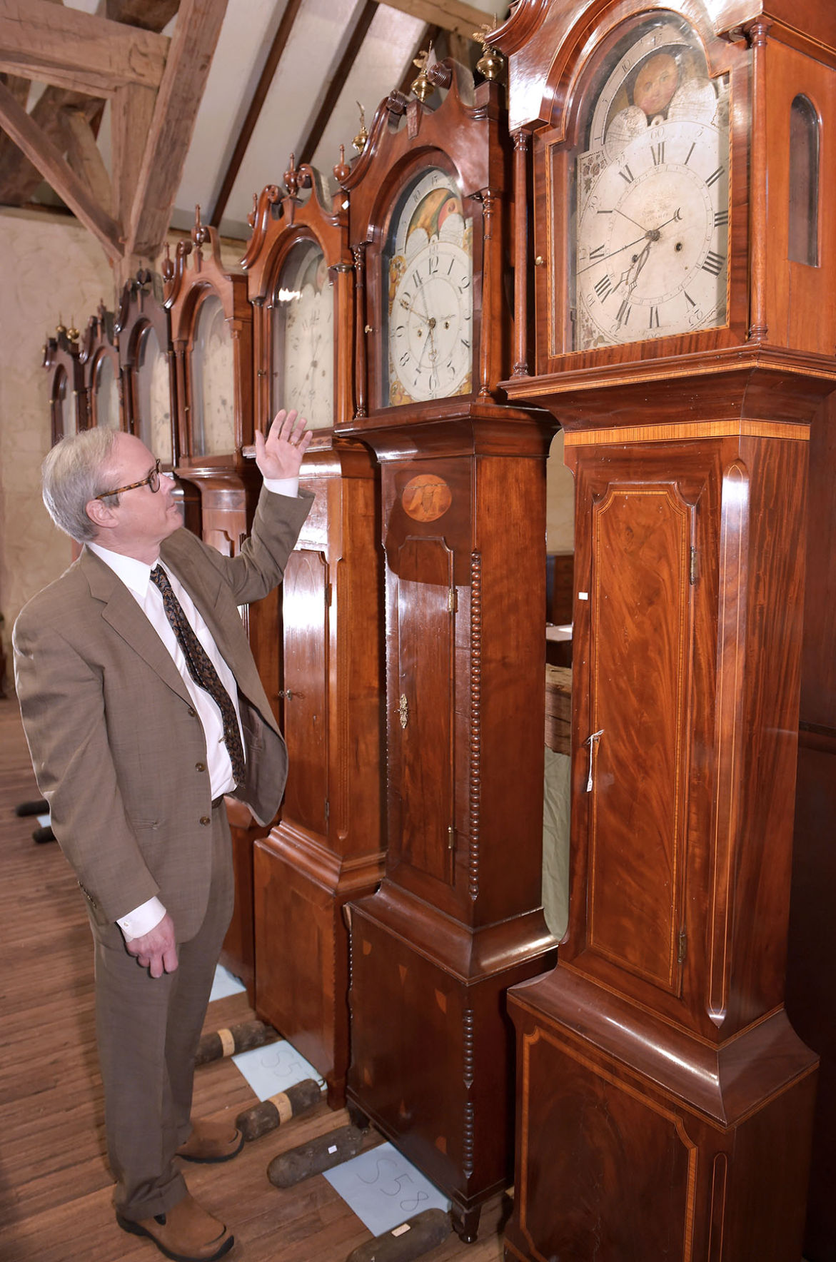 Bachelor scholar leaves 112 tall clocks and a $9.7-million legacy  benefiting museums and historic preservation | Local News |  lancasteronline.com - Bachelor Scholar Leaves 112 Tall Clocks And A $9.7-million Legacy