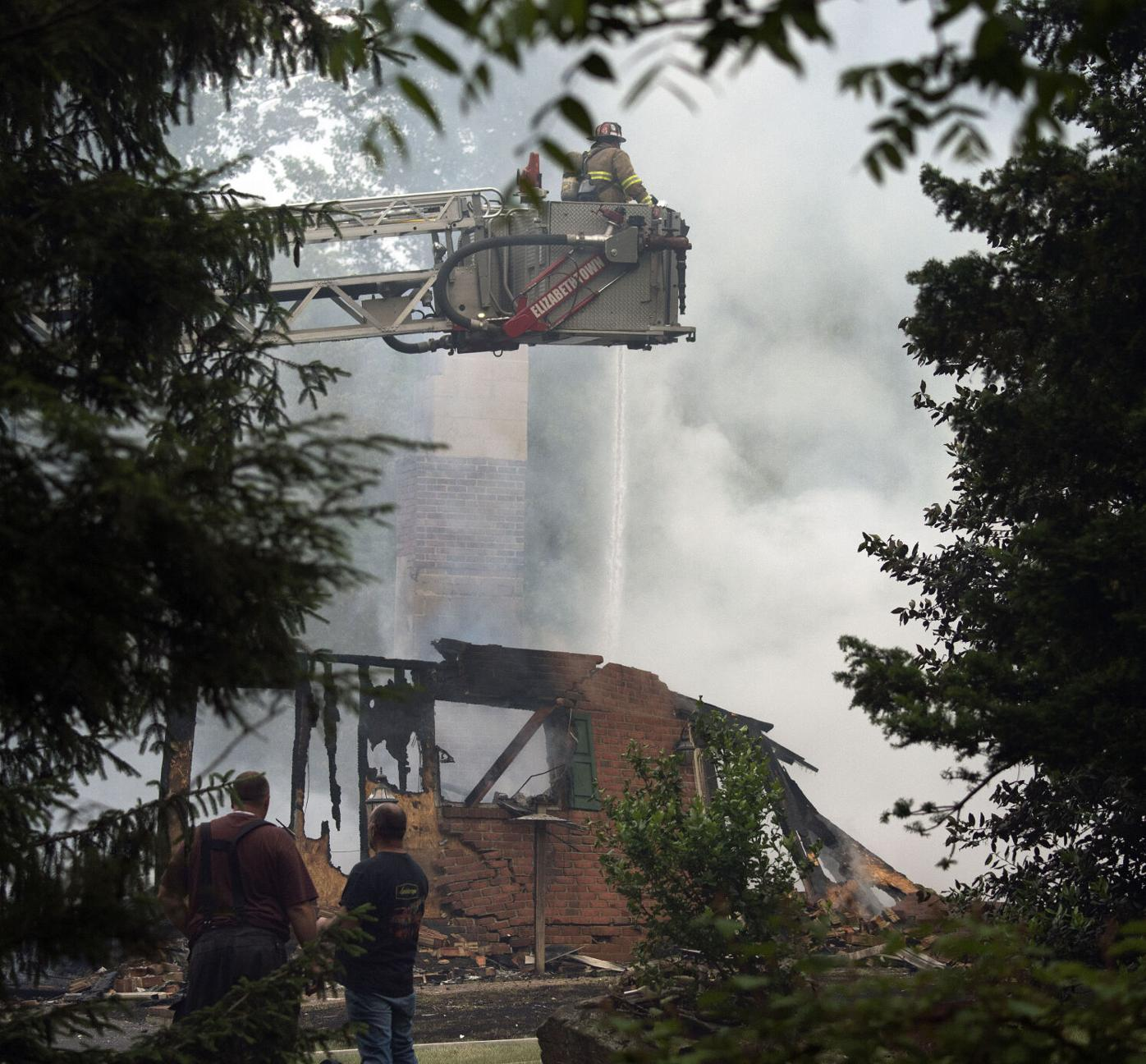 House Explosion Mt Joy Twp.