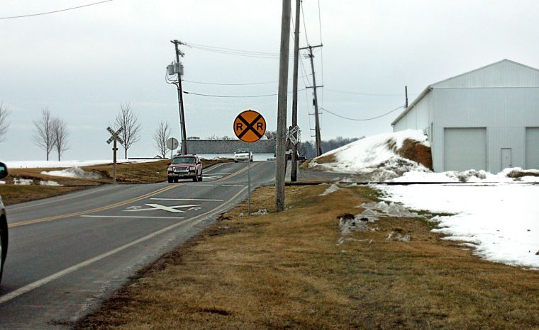 Watchdog railroad crossing on track for lights and gates