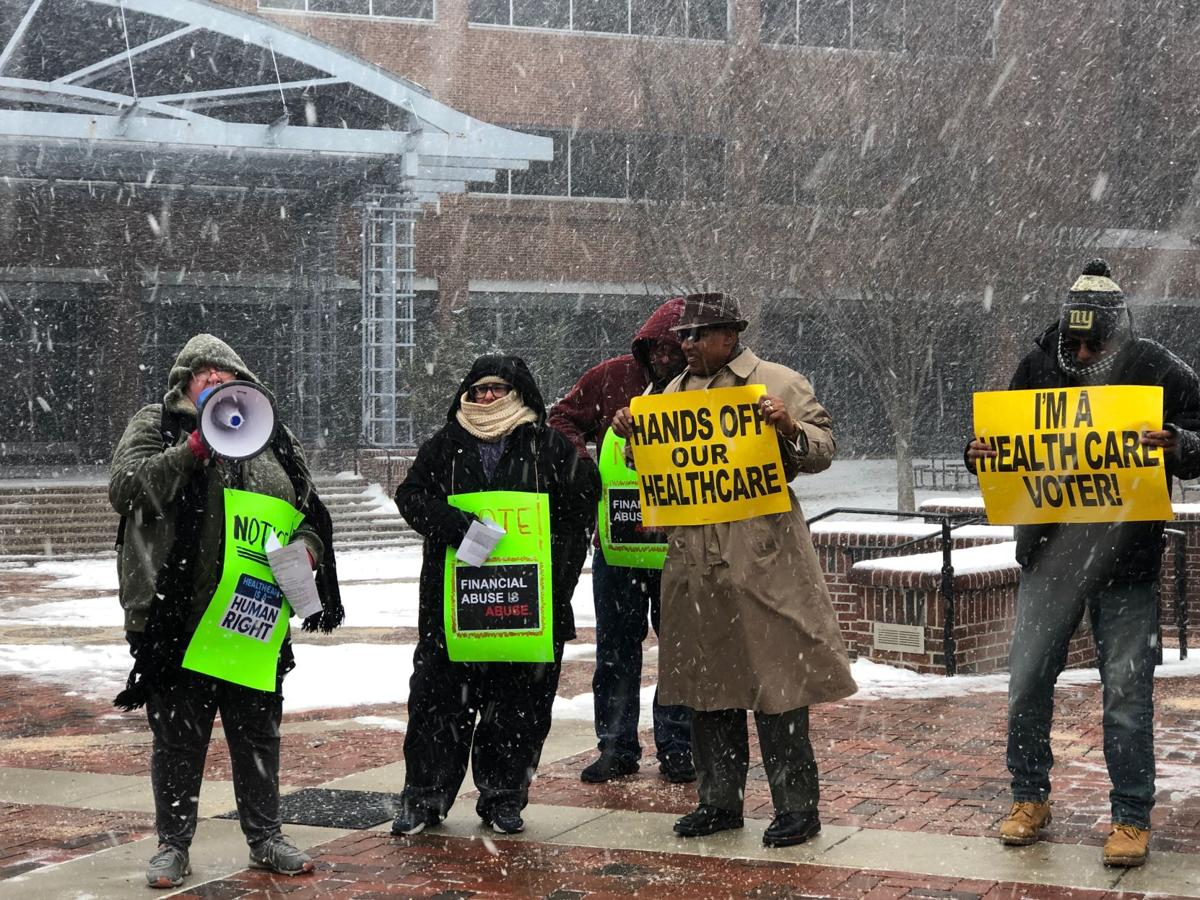 It is an atrocity' - protesters decry UPMC Pinnacle closure at