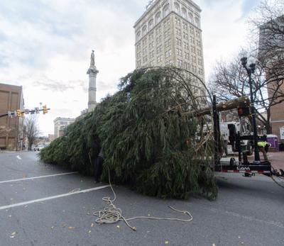 Christmas Tree lifting 111720