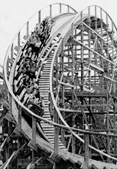 Hersheypark Wildcat opening, 1996