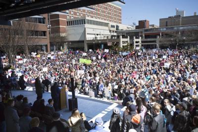 Gun reform rally
