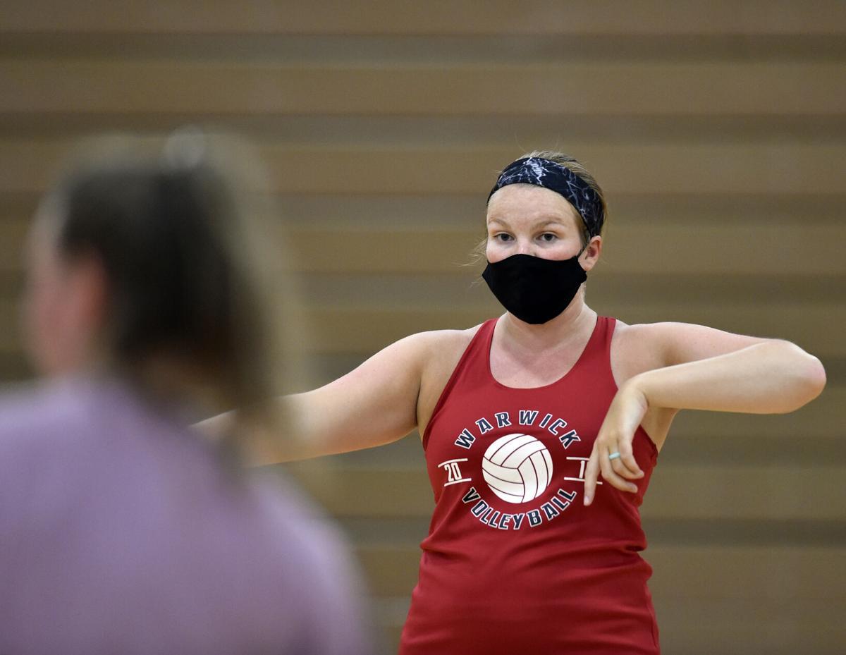 Megan Obetz-Warwick Girls Volleyball