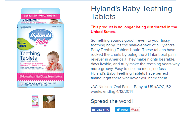 FDA issues new warning against homeopathic teething ...