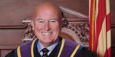 Ex-judge in porn scandal gets $11K monthly pension