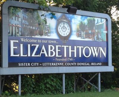 Elizabethtown sign