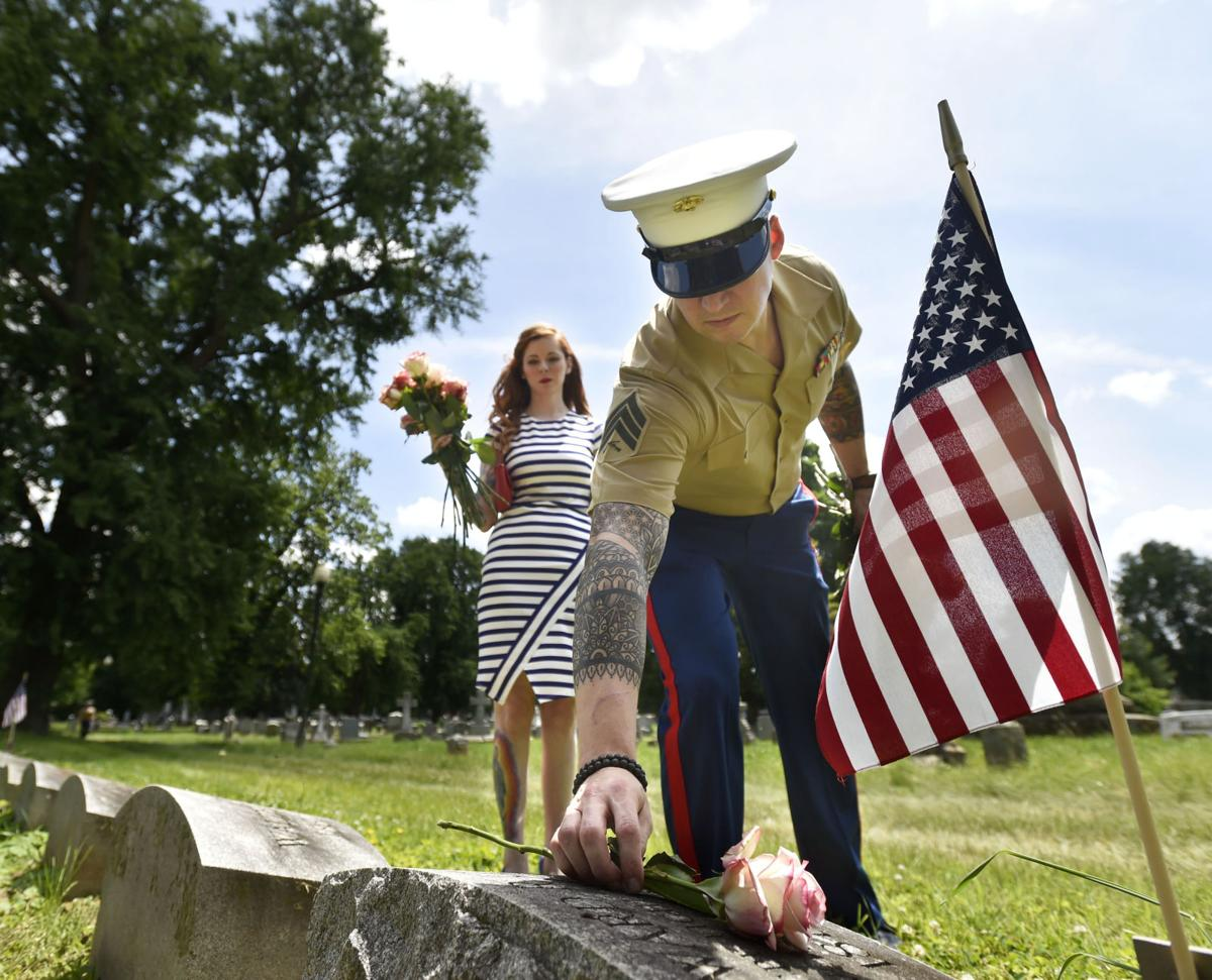 A Rose for Every Stone-Memorial Day Tribute