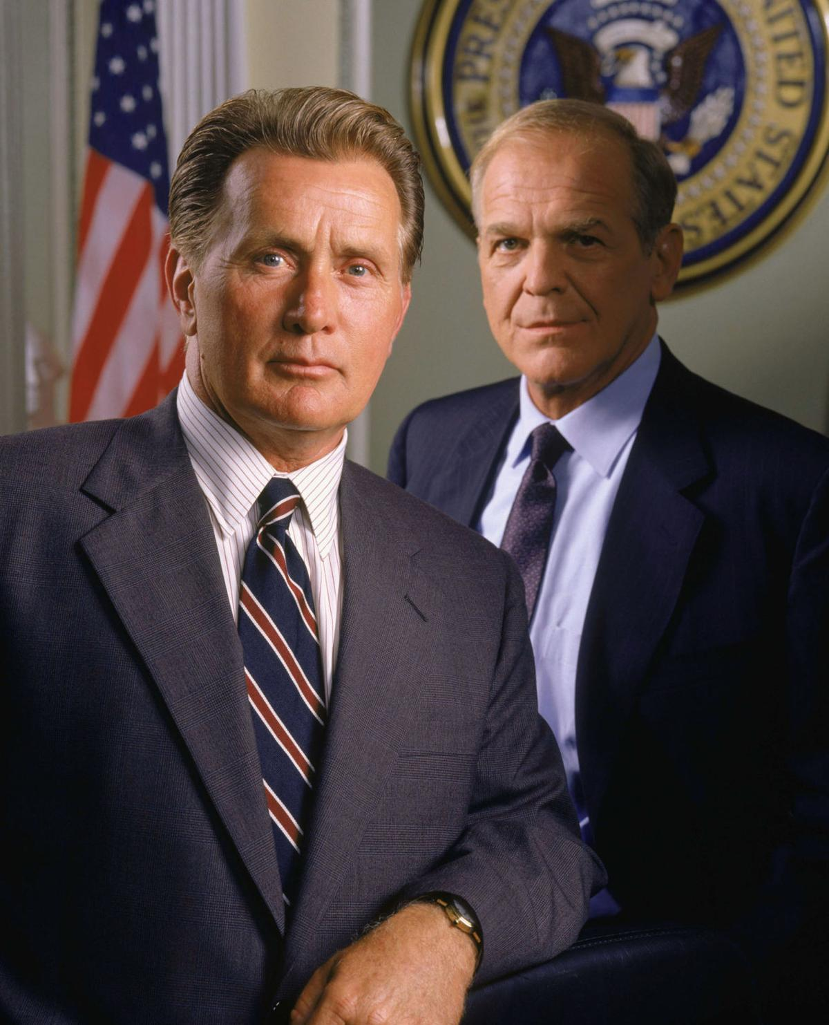 "Martin Sheen and John Spencer, ""West Wing"""