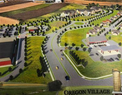 Oregon Village Rendering