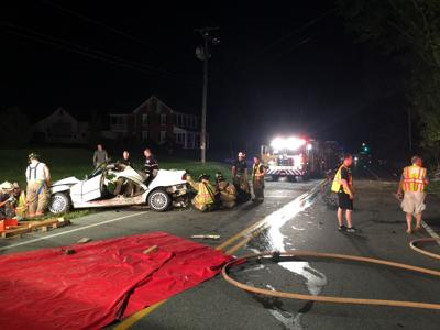 Route 23 and Snake Hill Road crash