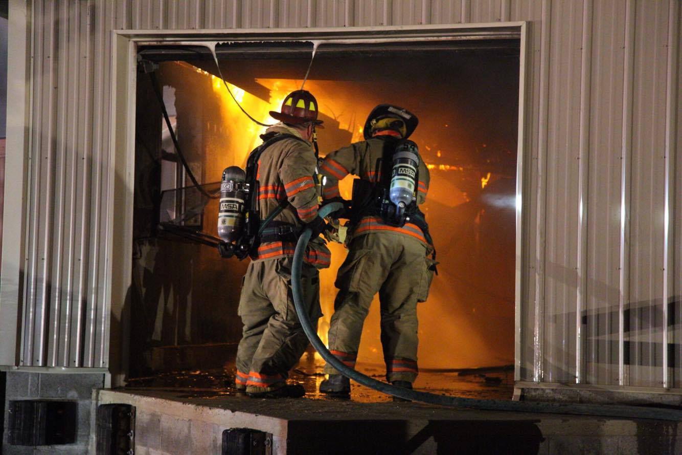 Strasburg chicken house fire