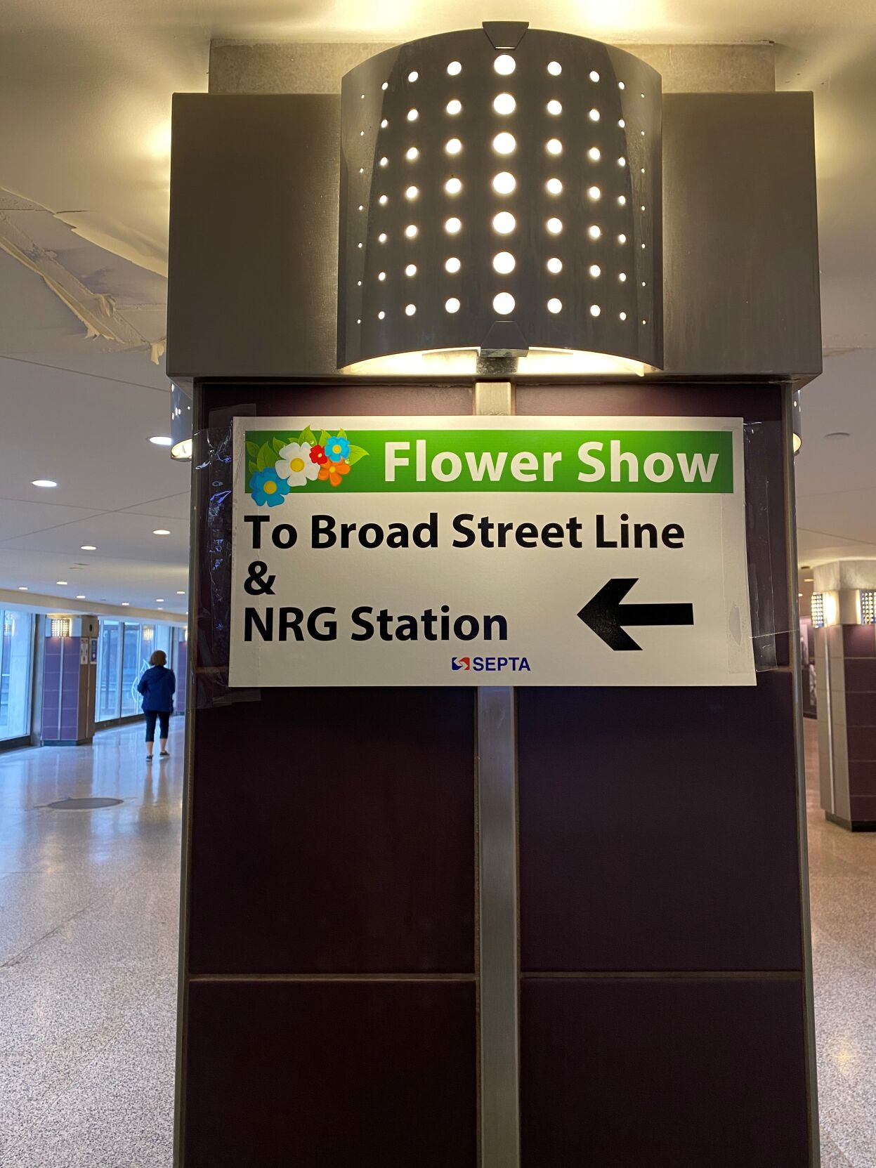 Philadelphia Flower Show transportation
