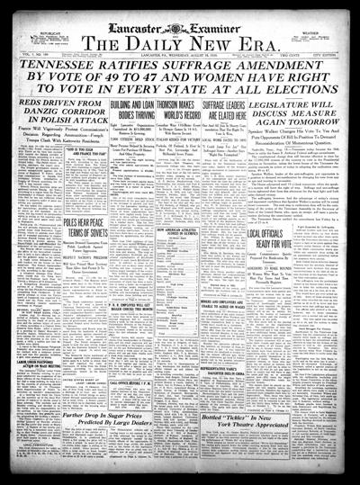 front page - 1920