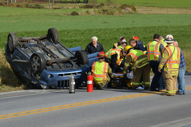 Car Crash Devonshire
