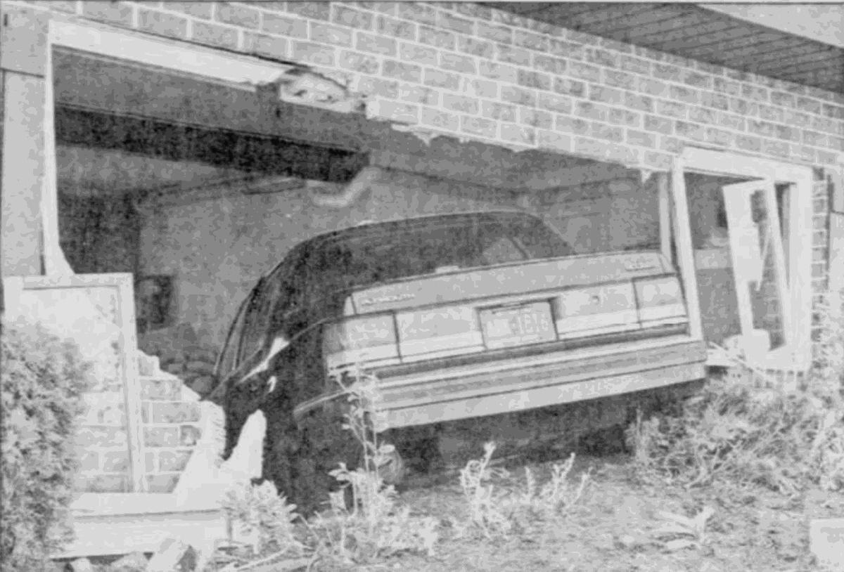 Car into home, 1995