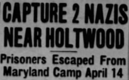 Nazis in Holtwood, 1945
