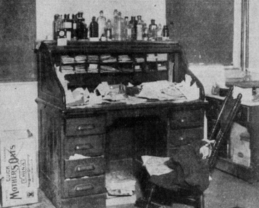 Zimmerly's desk
