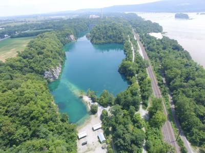 Abandoned quarry near Susquehanna gets new purpose to