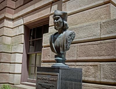Columbus Statue vandalism