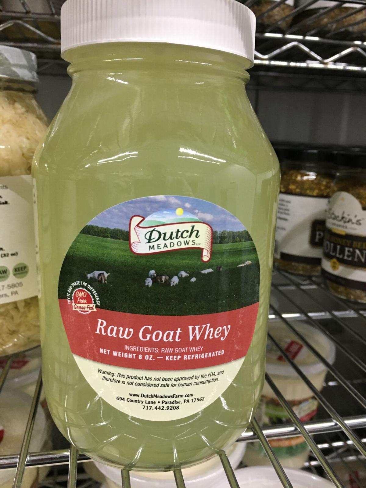 Raw milk whey