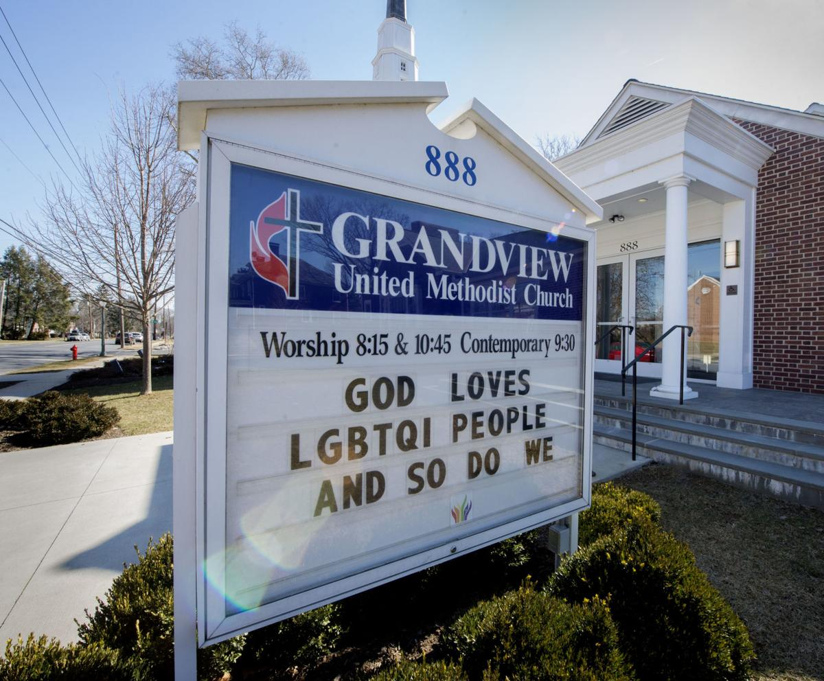 Grandview UMC sign