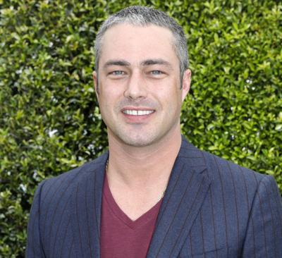 Taylor Kinney at NBC press event