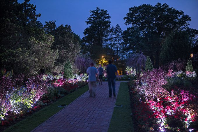 Lancaster Garden Walk: Nightscape Returns To Longwood Gardens With More Lights