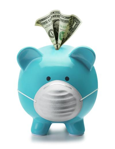 Heath Care and Medical Expenses Piggy Bank