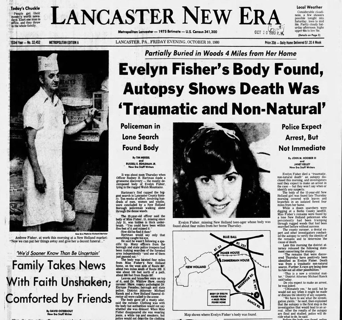 Fisher body found 07222020