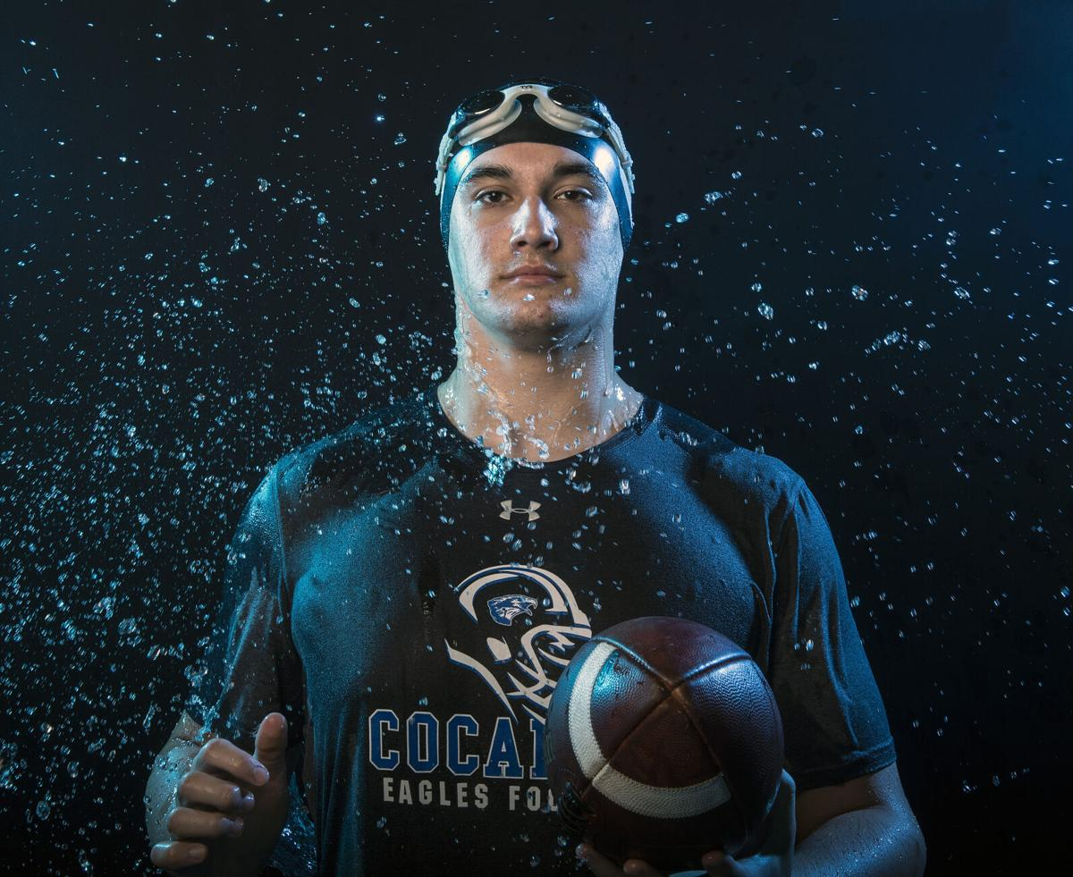 Ryan Brubaker-Cocalico Football, Swimming and Track