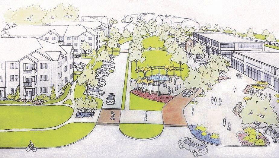 Millersville Town Center rendering