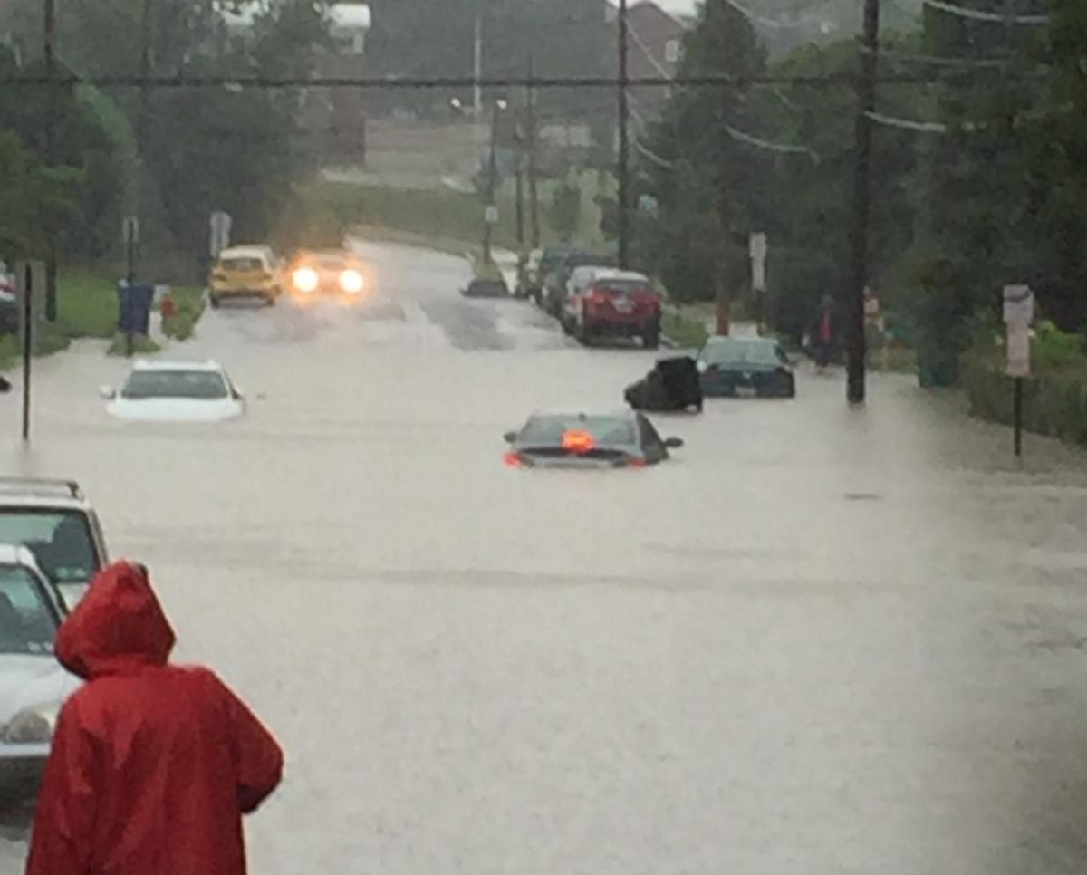 Torrential Downpours See Photos Of Major Flooding In