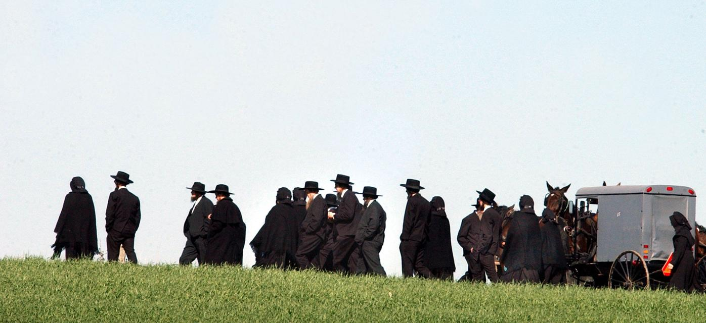 Amish funeral
