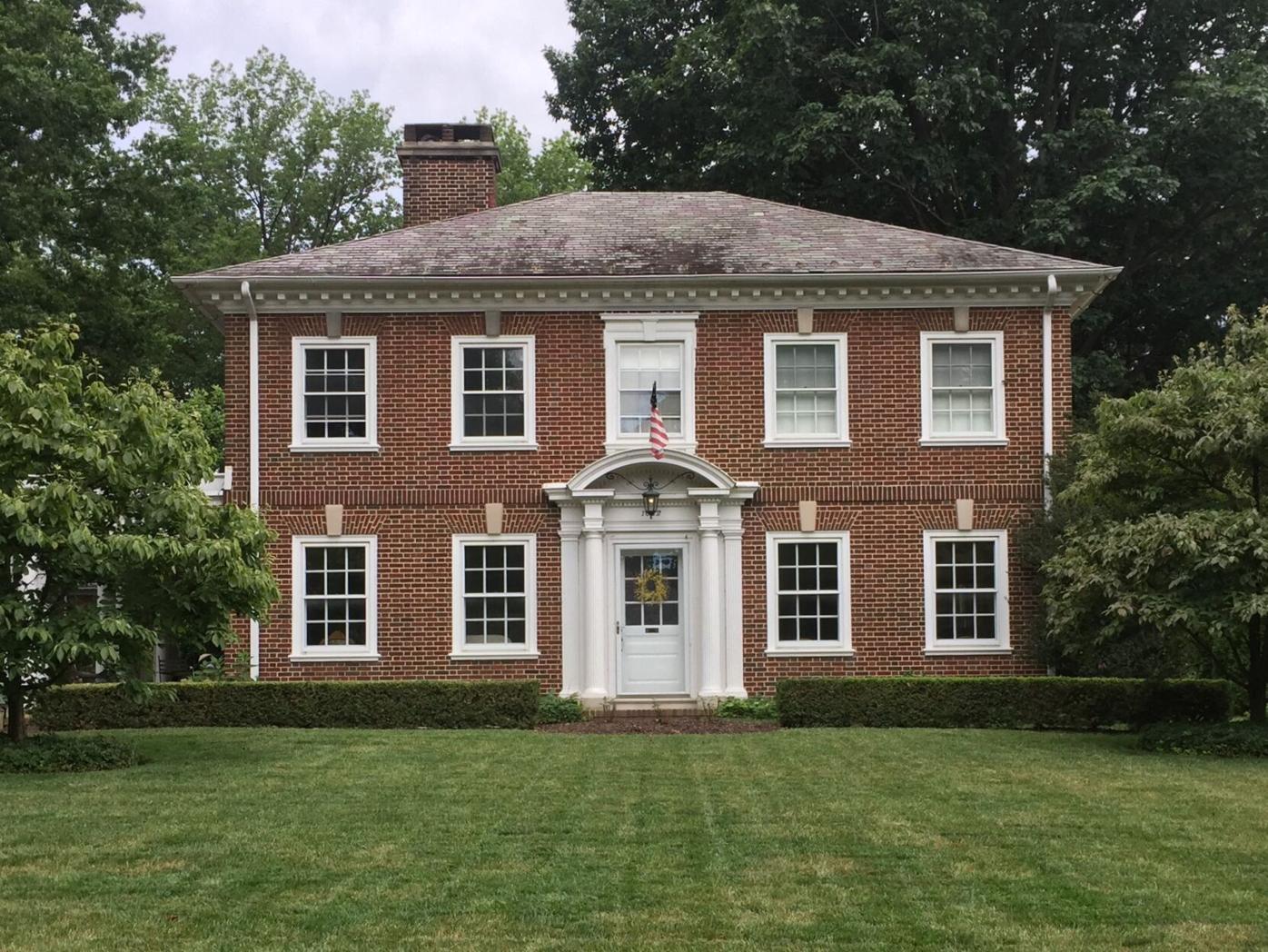 HG Colonial Revival Clarence Farmer Residence Buchanan Ave