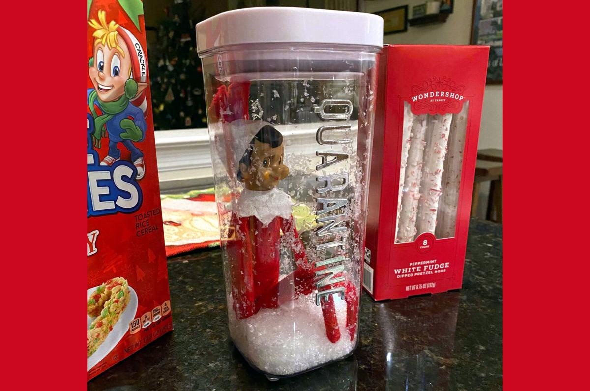 Parents Are Getting An Elf On The Shelf Break By Quarantining Their Elves Local News Lancasteronline Com